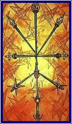 59-Ten of Swords Upright Thoth Spiritual Tarot Reading