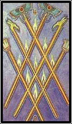 Salem Tarot - Six of Wands