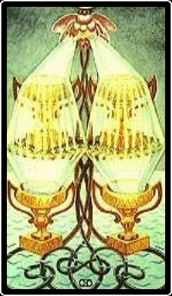 Salem Tarot - Four of Chalices