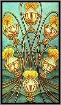 Salem Tarot - Six of Chalices