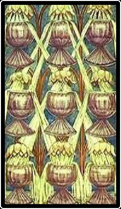 Salem Tarot - Nine of Chalices