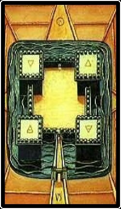 Salem Tarot - Four of Patens