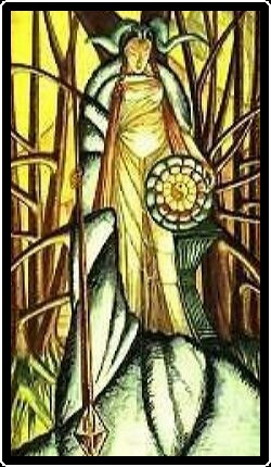 Salem Tarot - Princess of Patens