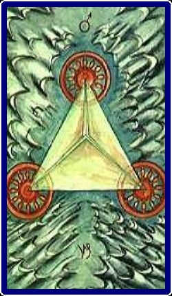 66-Three of Disks Thoth Tarot Meanings – Free Readings 4U